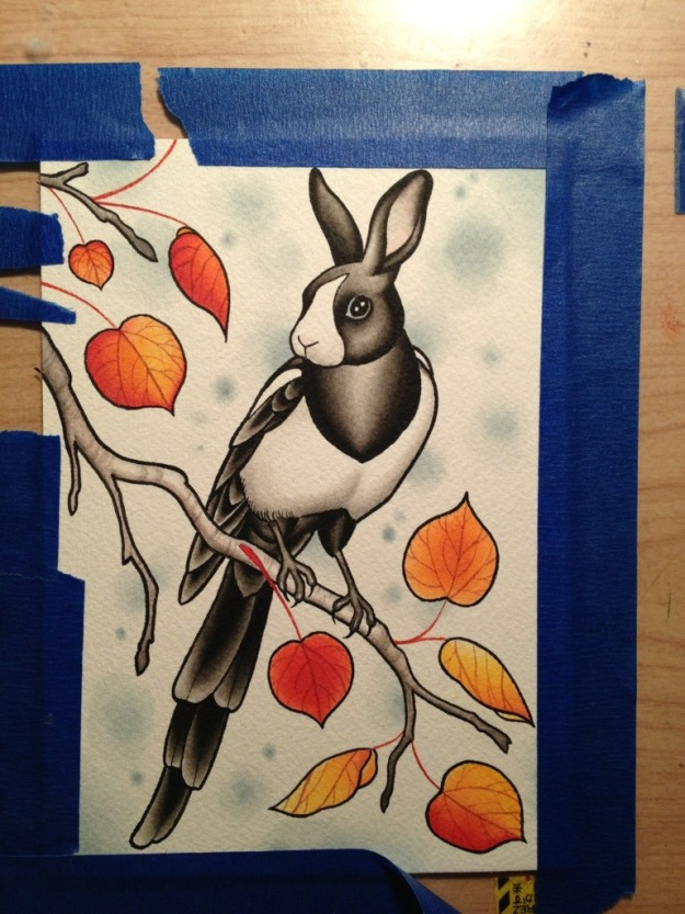 bunnybird dutch magpie